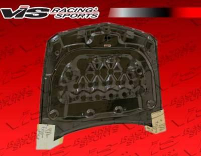 VIS Racing - Carbon Fiber Hood OEM Style for Cadillac CTS-V 2DR 09-15 - Image 4