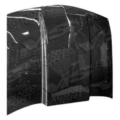 VIS Racing - Carbon Fiber Hood Cowl Induction Style for Chevrolet Blazer 2DR 95-04 - Image 2
