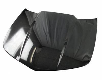 VIS Racing - Carbon Fiber Hood OEM Style for Chevrolet Camaro 2DR 10-15 - Image 2