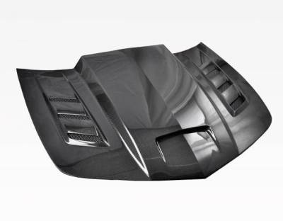 VIS Racing - Carbon Fiber Hood Terminator Style for Chevrolet Camaro 2DR 10-15 - Image 1