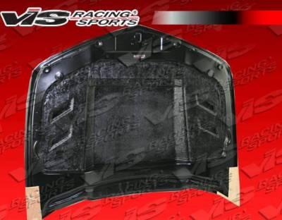 VIS Racing - Carbon Fiber Hood Terminator Style for Chevrolet Camaro 2DR 10-15 - Image 3