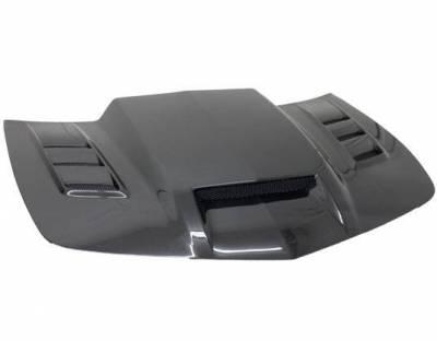 VIS Racing - Carbon Fiber Hood Terminator GT Style for Chevrolet Camaro 2DR 10-15 - Image 1