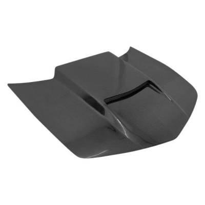 VIS Racing - Carbon Fiber Hood Viper Style for Chevrolet Camaro 2DR 10-15 - Image 1
