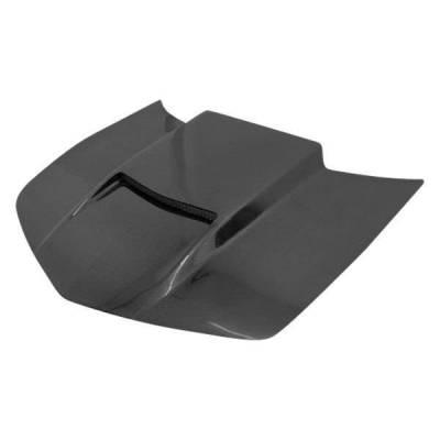 VIS Racing - Carbon Fiber Hood Viper Style for Chevrolet Camaro 2DR 10-15 - Image 2