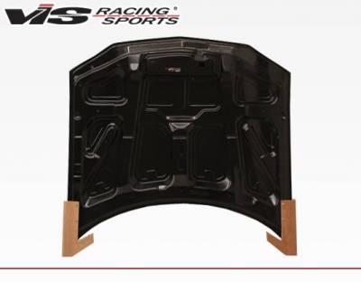 VIS Racing - Carbon Fiber Hood OEM Style for Chevrolet Camaro 2DR 98-02 - Image 4