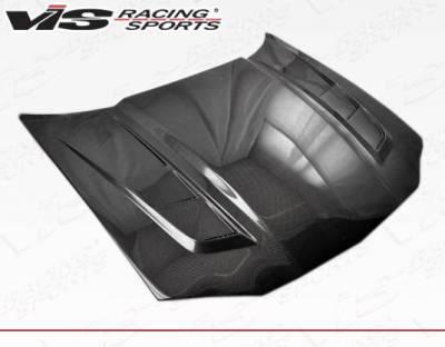 VIS Racing - Carbon Fiber Hood SCV Style for Chevrolet Camaro 2DR 98-02 - Image 1