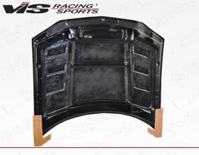 VIS Racing - Carbon Fiber Hood SCV Style for Chevrolet Camaro 2DR 98-02 - Image 4