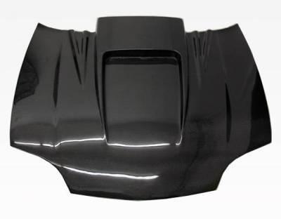 VIS Racing - Carbon Fiber Hood ZD Style for Chevrolet Cavalier 2DR & 4DR 95-02 - Image 2