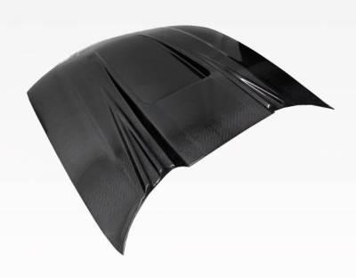 VIS Racing - Carbon Fiber Hood ZD Style for Chevrolet Cavalier 2DR & 4DR 95-02 - Image 3