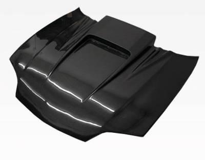 VIS Racing - Carbon Fiber Hood ZD Style for Chevrolet Cavalier 2DR & 4DR 95-02 - Image 4