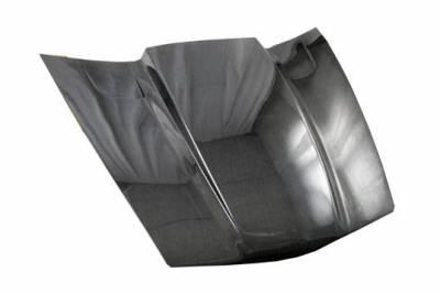 VIS Racing - Carbon Fiber Hood Penta Style for Chevrolet Corvette 2DR 05-13 - Image 1