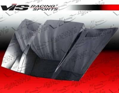 VIS Racing - Carbon Fiber Hood Penta Style for Chevrolet Corvette 2DR 05-13 - Image 2