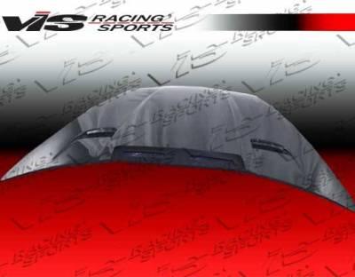 VIS Racing - Carbon Fiber Hood Penta Style for Chevrolet Corvette 2DR 05-13 - Image 3