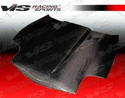 VIS Racing - Carbon Fiber Hood Penta Style for Chevrolet Corvette 2DR 05-13 - Image 4