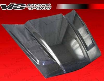VIS Racing - Carbon Fiber Hood SCV Style for Chevrolet Corvette 2DR 05-13 - Image 4