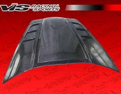 VIS Racing - Carbon Fiber Hood SCV Style for Chevrolet Corvette 2DR 05-13 - Image 5