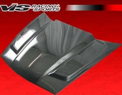 VIS Racing - Carbon Fiber Hood SCV Style for Chevrolet Corvette 2DR 05-13 - Image 6