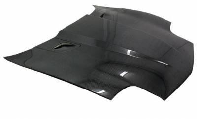 VIS Racing - Carbon Fiber Hood Penta Style for Chevrolet Corvette 2DR 97-04 - Image 1