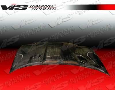 VIS Racing - Carbon Fiber Hood Penta Style for Chevrolet Corvette 2DR 97-04 - Image 3