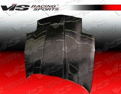 VIS Racing - Carbon Fiber Hood Penta Style for Chevrolet Corvette 2DR 97-04 - Image 4