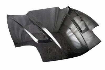 VIS Racing - Carbon Fiber Hood SCV Style for Chevrolet Corvette 2DR 97-04 - Image 1