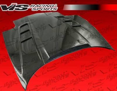 VIS Racing - Carbon Fiber Hood SCV Style for Chevrolet Corvette 2DR 97-04 - Image 3