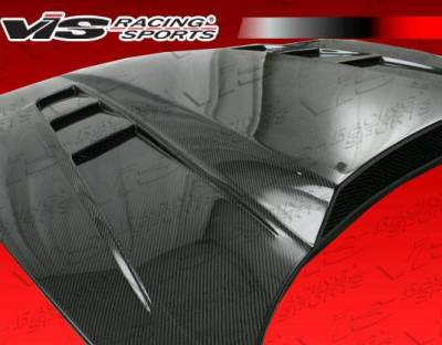 VIS Racing - Carbon Fiber Hood SCV Style for Chevrolet Corvette 2DR 97-04 - Image 4