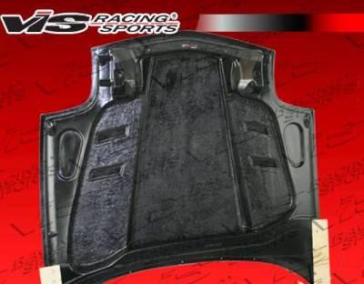 VIS Racing - Carbon Fiber Hood SCV Style for Chevrolet Corvette 2DR 97-04 - Image 5