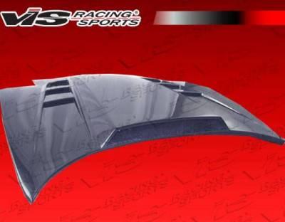VIS Racing - Carbon Fiber Hood SCV Style for Chevrolet Corvette 2DR 97-04 - Image 6