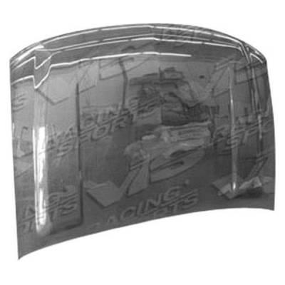 VIS Racing - Carbon Fiber Hood OEM Style for Chevrolet Silverado 4DR HD 03-06 - Image 1