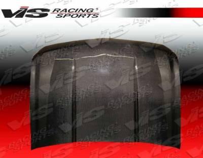 VIS Racing - Carbon Fiber Hood OEM Style for Chevrolet Tahoe 4DR 07-11 - Image 3