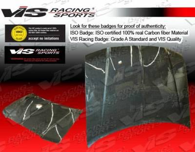 VIS Racing - Carbon Fiber Hood OEM Style for Chrysler 300/300C 4DR 05-10 - Image 3