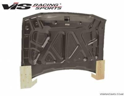 VIS Racing - Carbon Fiber Hood SRT 2 Style for Chrysler 300/300C 4DR 05-10 - Image 2