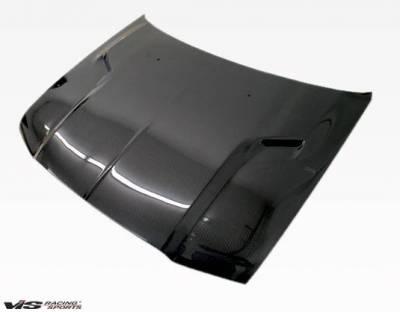 VIS Racing - Carbon Fiber Hood SRT 2 Style for Chrysler 300/300C 4DR 05-10 - Image 3