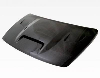 VIS Racing - Carbon Fiber Hood SRT Style for Dodge Caliber (non srt) 4DR 07-09 - Image 1
