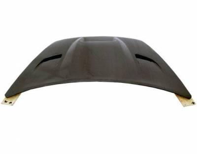 VIS Racing - Carbon Fiber Hood SRT Style for Dodge Caliber (non srt) 4DR 07-09 - Image 4