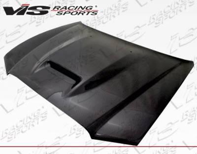 VIS Racing - Carbon Fiber Hood SRT Style for Dodge Charger 4DR 11-14 - Image 2