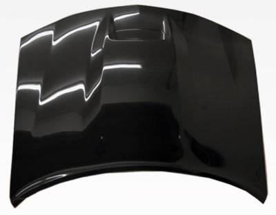VIS Racing - Carbon Fiber Hood SRT Style for Dodge Charger 4DR 06-10 - Image 3
