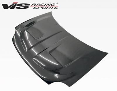 VIS Racing - Carbon Fiber Hood Xtreme GT Style for Dodge Neon 2DR & 4DR 95-99 - Image 1