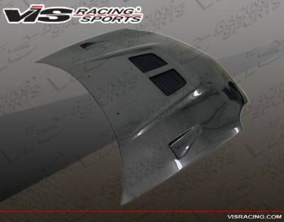 VIS Racing - Carbon Fiber Hood EVO Style for Dodge Neon 4DR 00-05 - Image 3