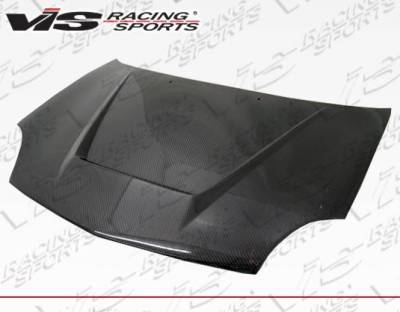 VIS Racing - Carbon Fiber Hood Invader Style for Dodge Neon 4DR 00-05 - Image 2