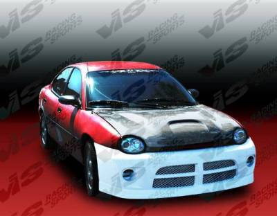 VIS Racing - Carbon Fiber Hood SRT Style for Dodge Neon  2DR & 4DR 95-99 - Image 3