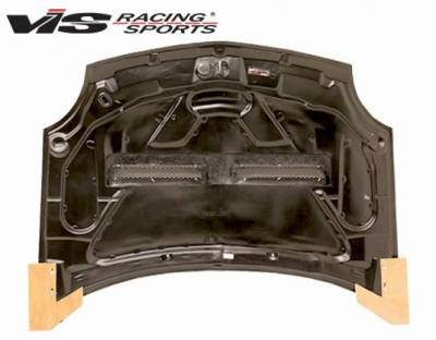 VIS Racing - Carbon Fiber Hood Xtreme GT Style for Dodge Neon  4DR 00-05 - Image 4