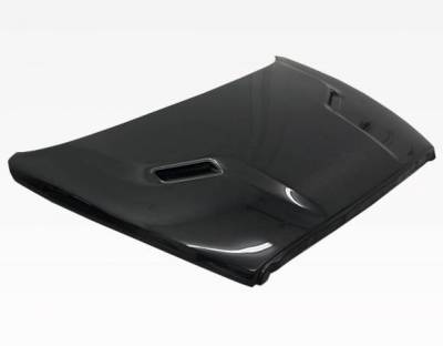 VIS Racing - Carbon Fiber Hood SRT 2 Style for Dodge Ram 2DR & 4DR 02-08 - Image 2