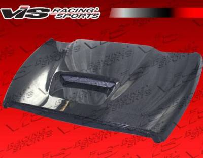 VIS Racing - Carbon Fiber Hood SRT Style for Dodge Ram 2DR & 4DR 94-01 - Image 1