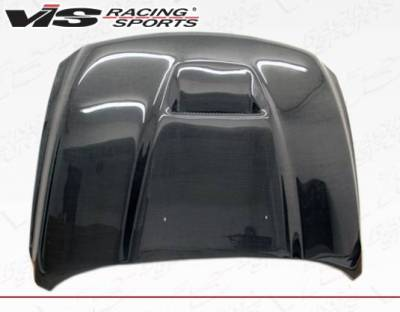 VIS Racing - Carbon Fiber Hood SRT  Style for Dodge Ram 1500 2DR & 4DR 2009-2018 - Image 3