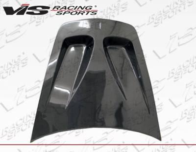 VIS Racing - Carbon Fiber Hood GT Style for Ferrari F 430 2DR 05-09 - Image 2
