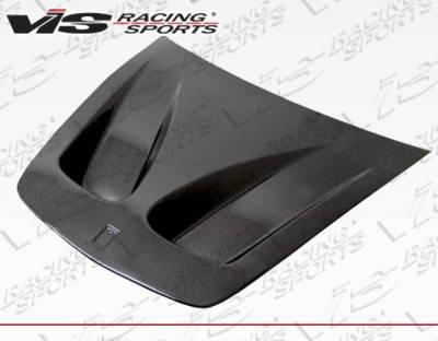 VIS Racing - Carbon Fiber Hood GT Style for Ferrari F 430 2DR 05-09 - Image 4
