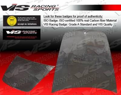VIS Racing - Carbon Fiber Hood OEM Style for Ferrari F 430 2DR 05-09 - Image 2