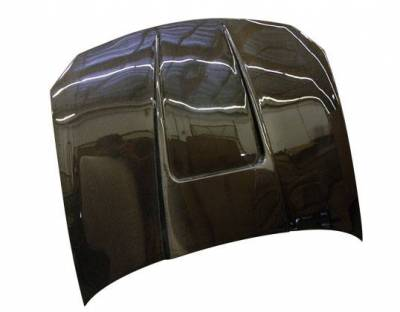 VIS Racing - Carbon Fiber Hood G Force Style for Ford Escort ZX 2 2DR 98-03 - Image 2